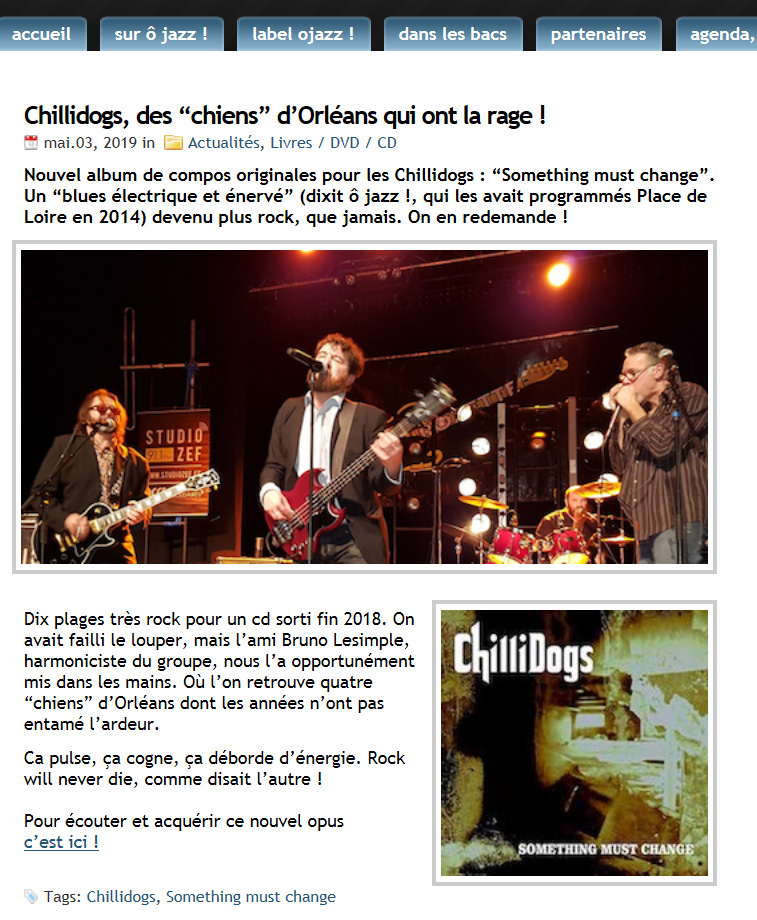CHILLIDOGS OJAZZ MAI 2019