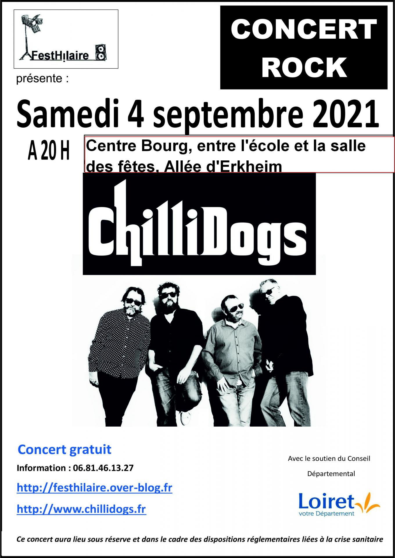 Festhilaire chillidogs 2022